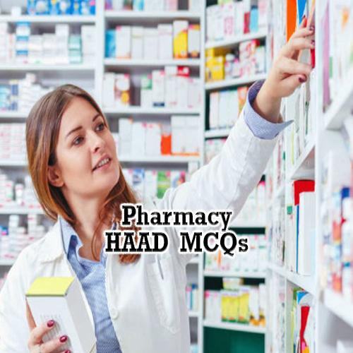 HAAD Pharmacy MCQs